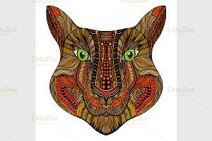 Tiger head image
