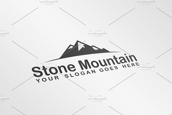 rocky mountain logo template logo templates creative market