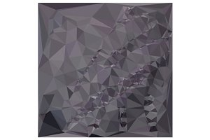 Dark Liver Lavender Abstract