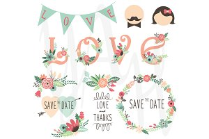 Wedding Clip Art Pack