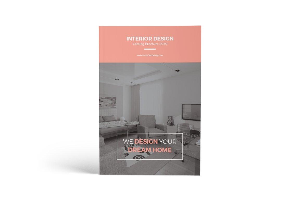 interior design brochures - interior design catalog brochure brochure templates