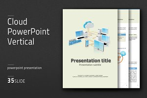 Cloud PowerPoint Vertical