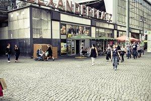 Berlin Alexanderplatz Urban Places