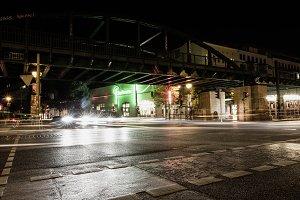 Berlin Urban Nightlife Traffic