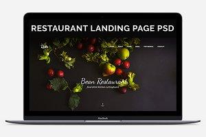 Bean | Restaurant template
