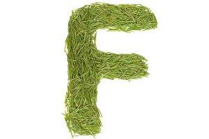 Green alphabet