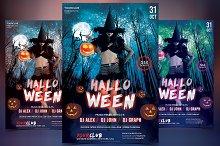 Halloween - PSD Flyer