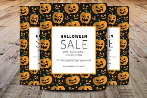 Halloween Promotion/Sell Offer Flyer