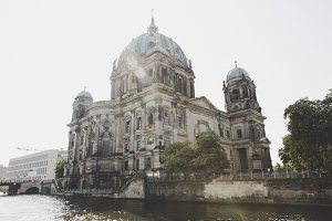 Berlin cathedral Spree Museumsinsel