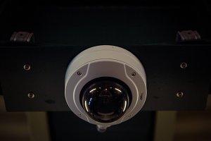 Berlin metro surveillance camera