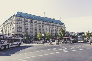 Berlin legendary hotel adlon