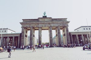 Berlin brandenburger tor sightseeing