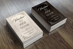 Vintage Voucher Card 02