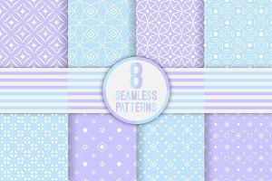 Сlassical seamless patterns set