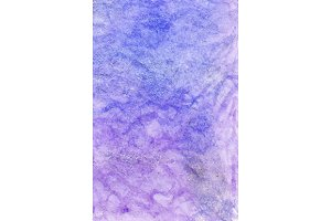 Watercolor lilac texture vector