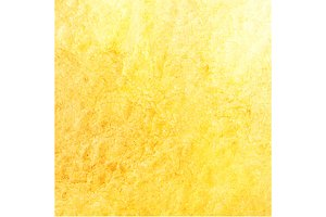 Watercolor yellow texture vector