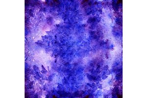 Watercolor lavender abstract pattern