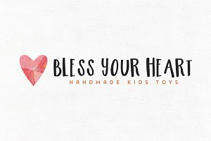 Bless Your Heart Logo Template