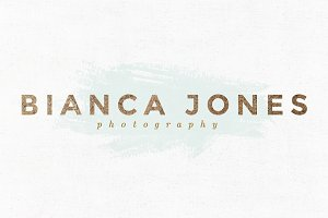 Bianca Jones Premade Logo Template