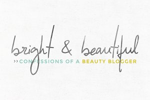 Bright & Beautiful Logo Template