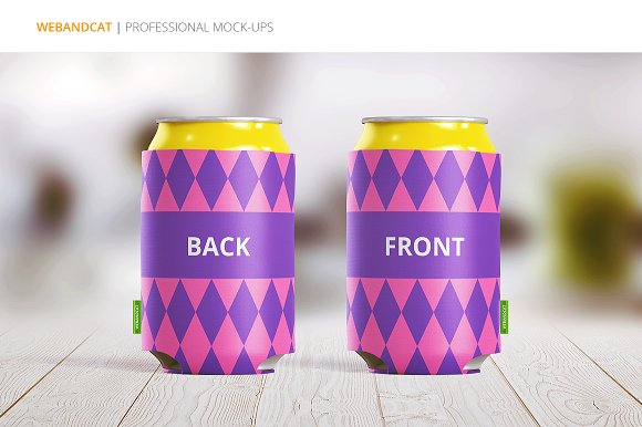 Can Koozie Mock-up ~ Product Mockups ~ Creative Market