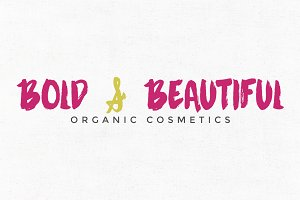 Bold & Beautiful Logo Template