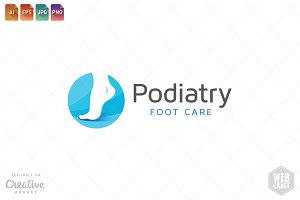 Podiatry Logo Template 11