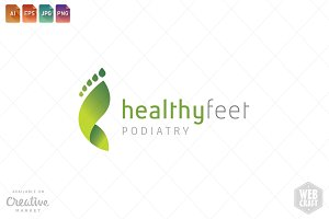 Podiatry Logo Template 12