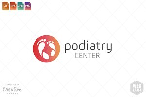 Podiatry Logo Template 14