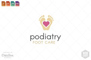 Podiatry Logo Template 13