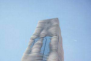 Aqua Building Chicago Architecture