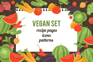 Vegan templates Collections