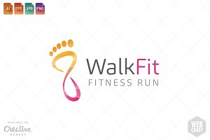 Podiatry / Fitness Logo Template 15