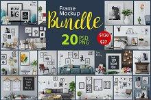 Frame Mockup Bundle Vol 1