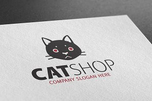 Cat Shop Logo