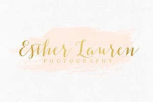 Esther Lauren Premade Logo Template