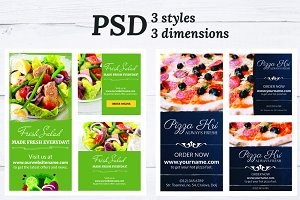 Restaurant Flyers - Two Style
