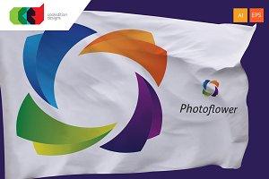 Photo Flower - Logo Template