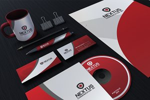 Red Corporate Identity