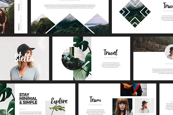 ASCHA - Powerpoint Template