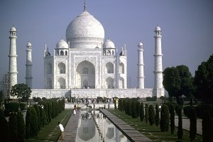 Taj Mahal royalty free collection