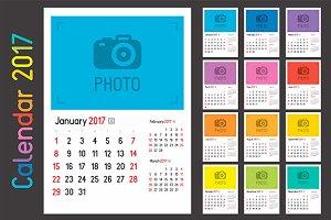 Calendar Planner for 2017