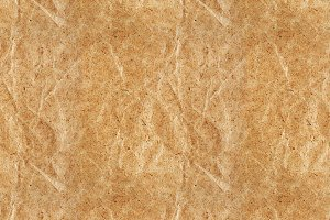 Seamless pattern of kraft paper