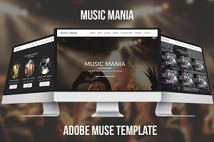 Music Mania Muse Template