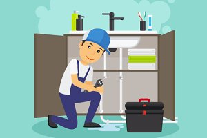 Plumber and plumbing service