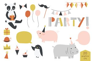 Party Animal | Vector