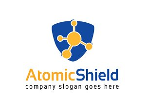 Atomic Shield Logo