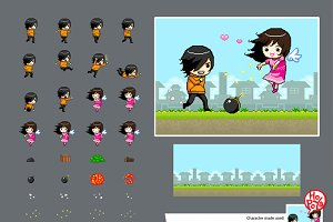 Get Your Love 2D Pixel Mini Game