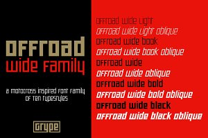 Offroad Wide Family