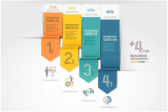 Business Arrow Infographics Template Presentation Templates